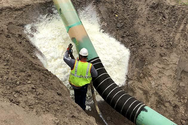 wyoming-industrial-pipeline-spray-foam-pad-pillow-upton-newcastle-sundance-hulett-moorcroft-gillette-WY